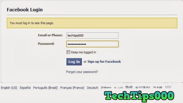 How to Delete a Facebook Account Permanently ~ techtips000