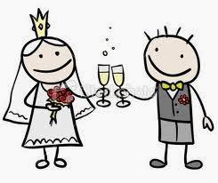 Dibujos de novios de bodas frases amor  imagenes y frases de amor