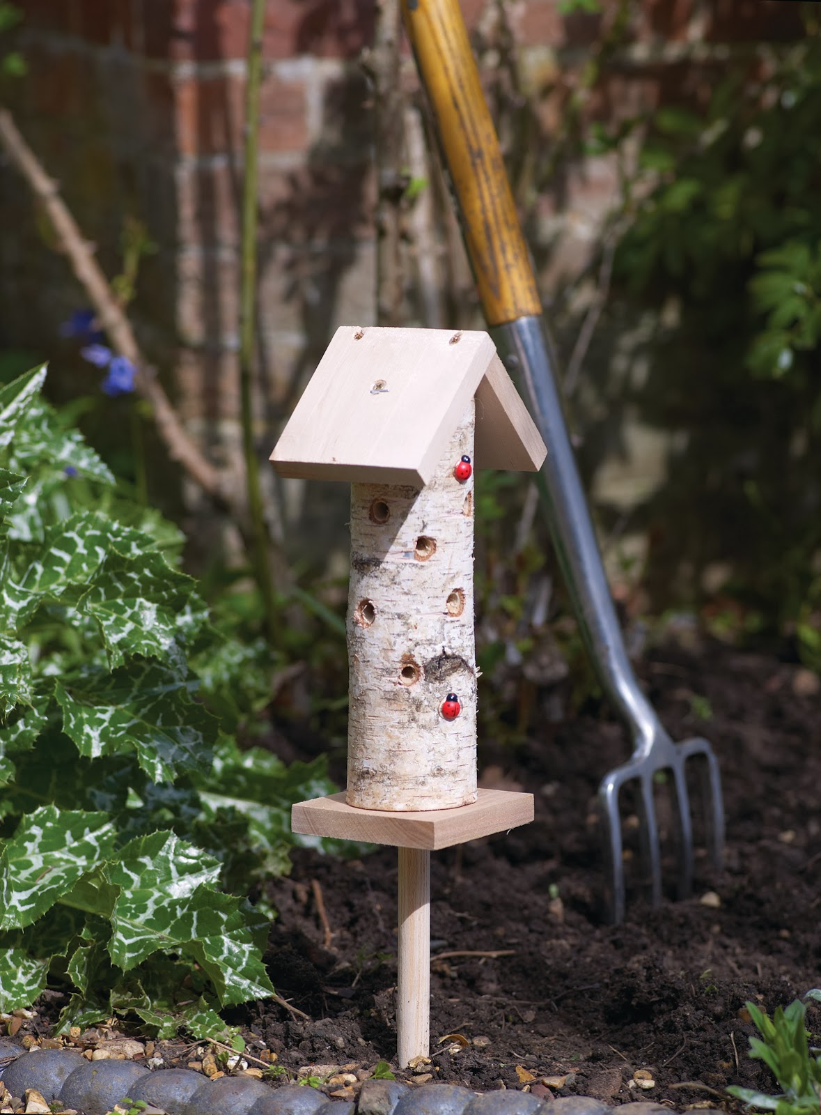 Ladybird Insect Tower