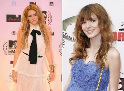 of days ago, a fan asked Bella Thorne if she loves Miley Cyrus. Bella