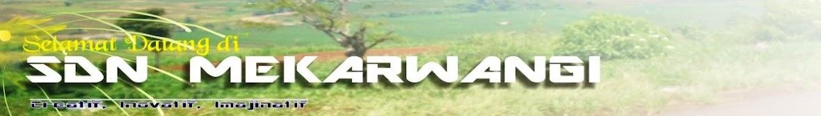 SDN Mekarwangi