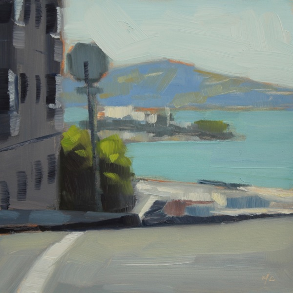 "Pardon My Perspective May 2013: Michael Chamberlain: ""View Of Alcatraz From Hyde"""