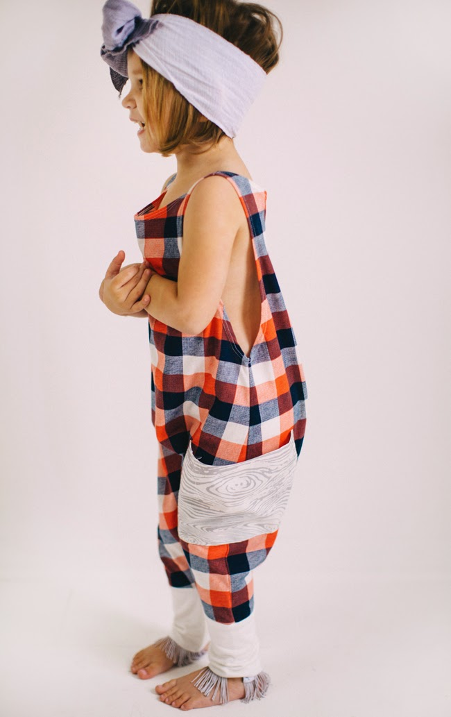 Kindred OAK Spring 2015 - plaid jumpsuit