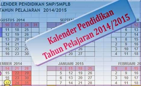 Kalender Pendidikan 2014/2015