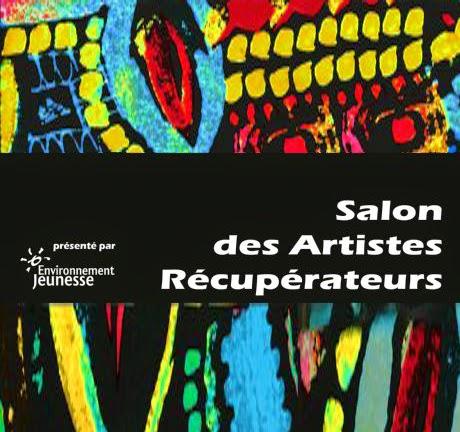 Affiche salon des artistes récupérateurs