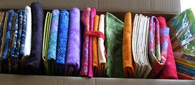 Beautiful Island Batik fabrics at Freemotion by the River