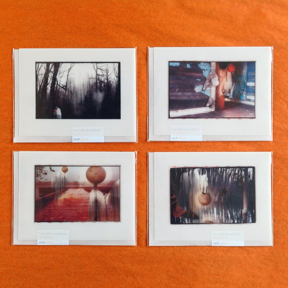 Photographic collage art for Halloween by Bindlegrim in a series of nine cards.