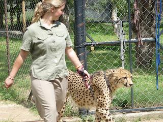 Maholoholo is is opvangcentrum voor verweesd en ziek wildlife
