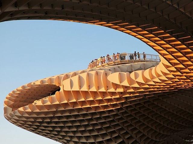 Bangunan Berbahan Kayu Paling Besar di Dunia ter-paling.blogspot.com