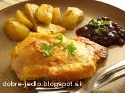 Kurča v syrovo-cesnakovom cestíčku - recept