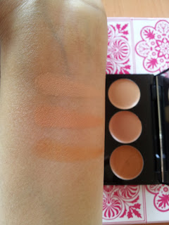 GOSH BB skin perfecting kit medium swatch