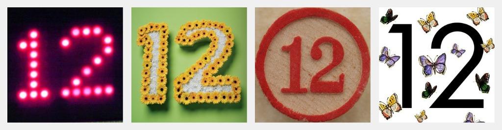12 Twelve Number