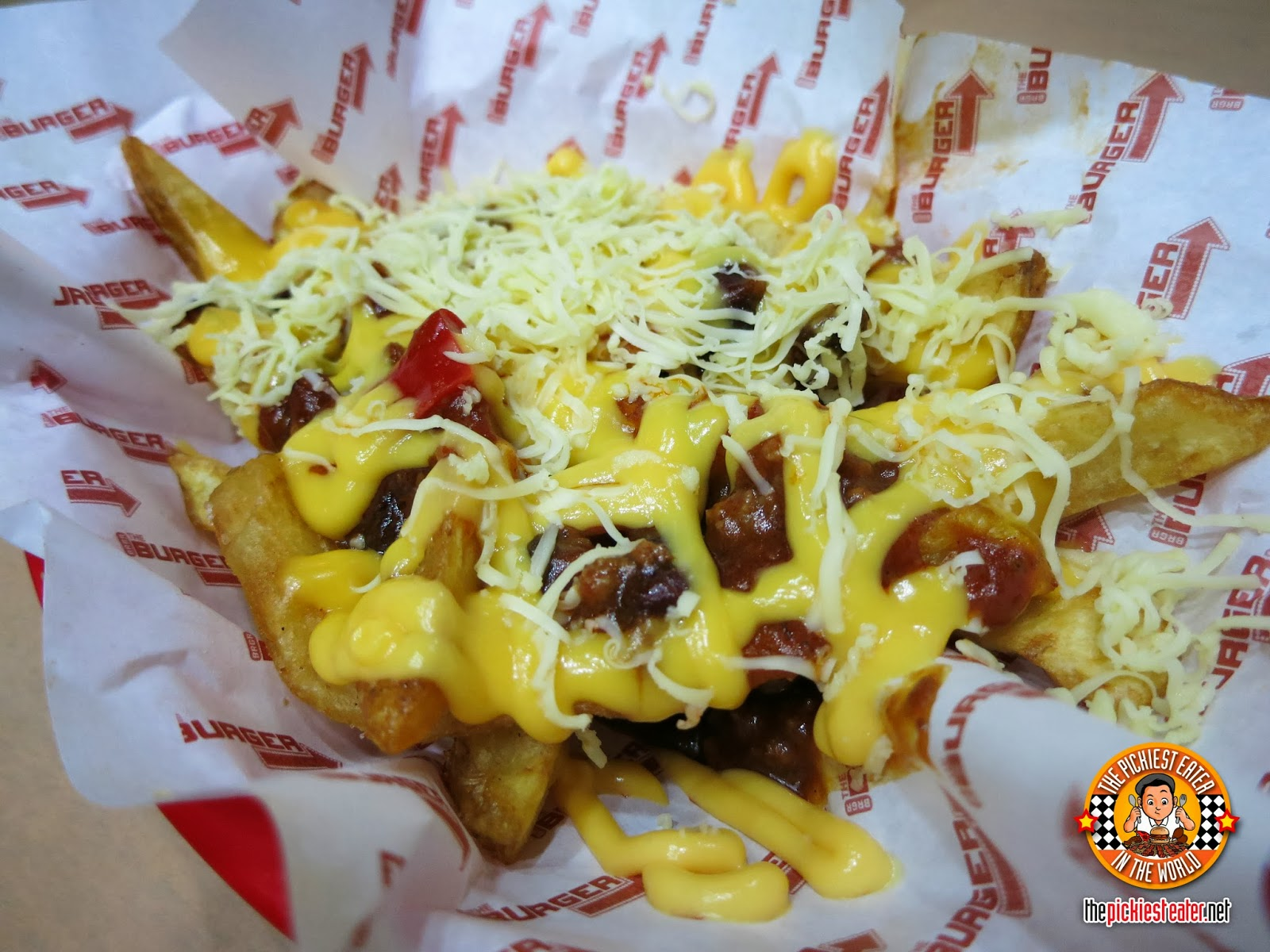 BRGR Project Makati chilli cheese fries