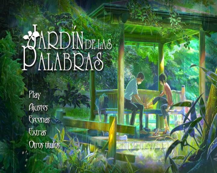 El jardin de la palabras castellano lo mejor en dvdfull for El jardin de las letras