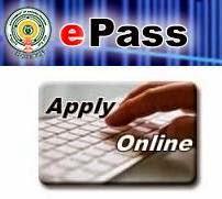 EPASS fresh online application scholarship registration 2014-2015