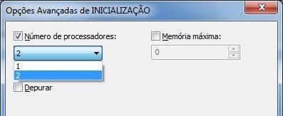 Opção avançada do Windows 7