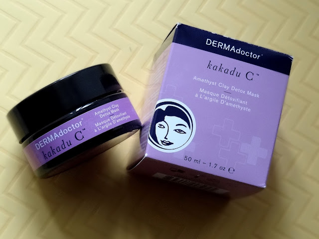 DERMADoctor Kakadu C Amethyst Clay Detox Mask Review, Photos