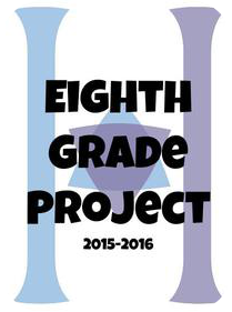 8th Grade Project Blogs