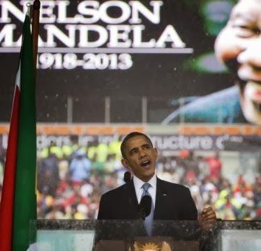 60 Ribu Orang Rayakan Upacara Penghormatan bagi Mandela