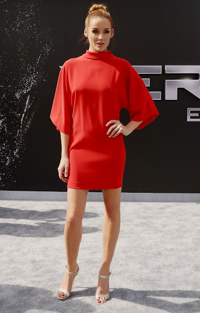 Actress @ Sarah Dumont - Terminator Genisys premiere in Hollywood