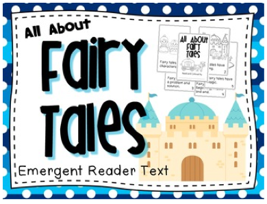 http://www.teacherspayteachers.com/Product/Fairy-Tales-Emergent-Reader-Text-957590