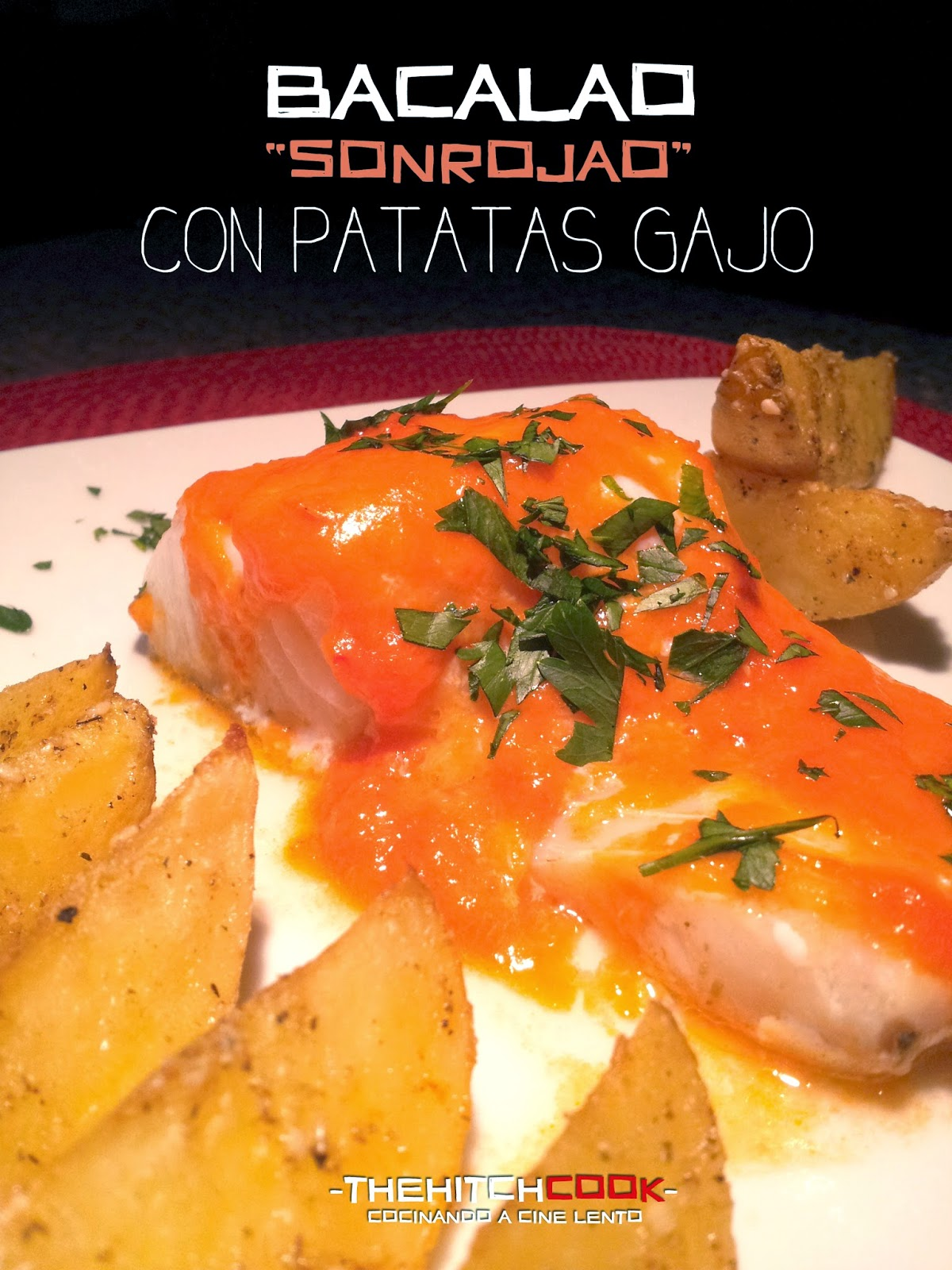 The hitchcook bacalao sonrojao con patatas gajo arde hollywood - Patatas con bacalao fresco ...