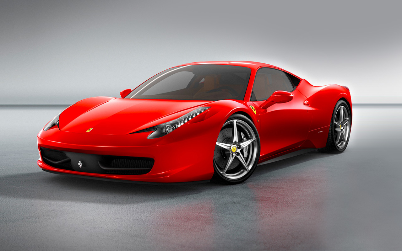 Super Cars Ferrari 458 Italia