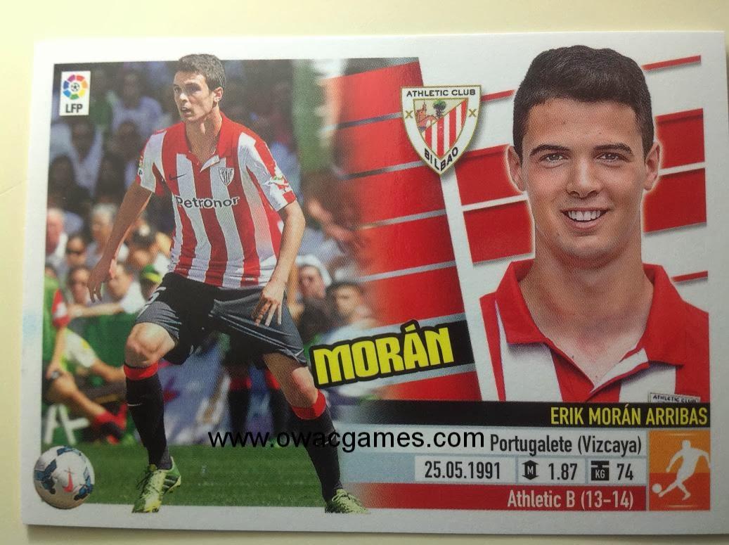 Liga ESTE 2013-14 Ath. Bilbao - 10B - Coloca - Morán