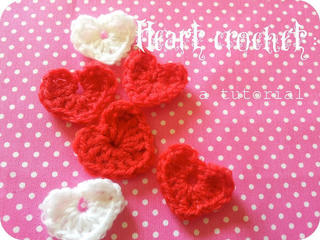 Heart crochet: a tutorial.