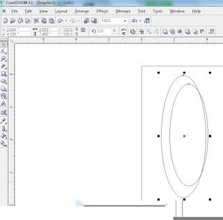 Buka aplikasi Corel Draw anda, bisa menggunakan Corel 11 atau diatas