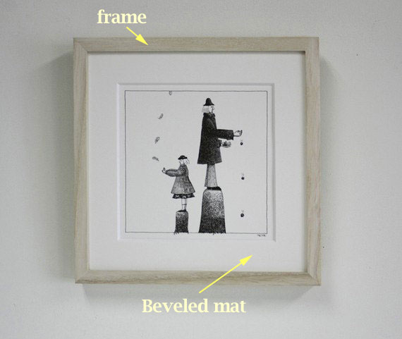 BradHallArt Blog: How to frame a pencil drawing