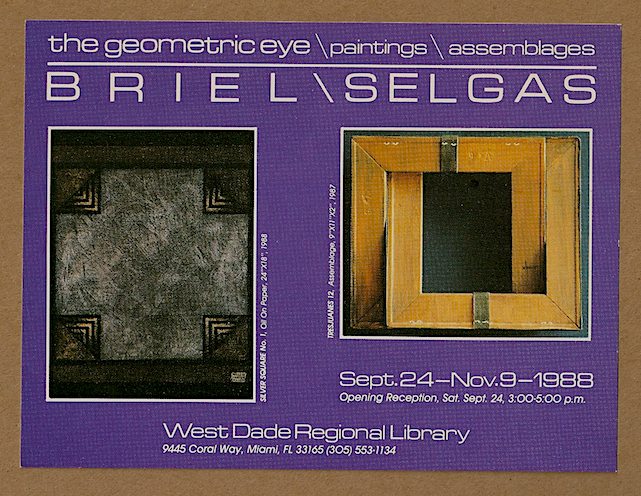 Briel&Selgas / Miami, FL / 1988