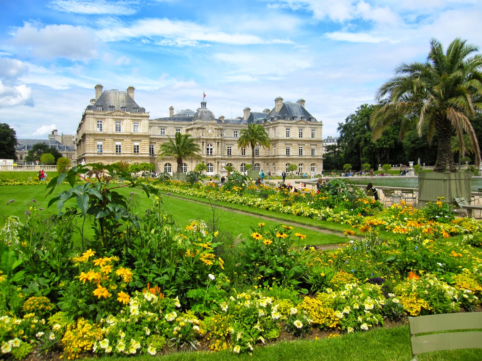 Destination Fiction Luxembourg Gardens Paris