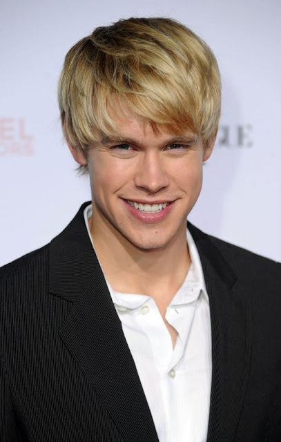Chord Overstreet with a big grin on his face