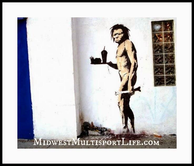 Banksy Graffiti Caveman