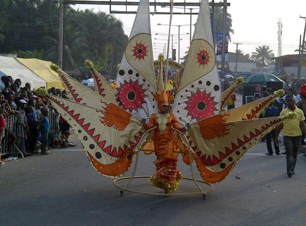 pictures from 2012 calabar carnival on the streets