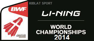 Hasil Pertandingan BWF World Championships 2014