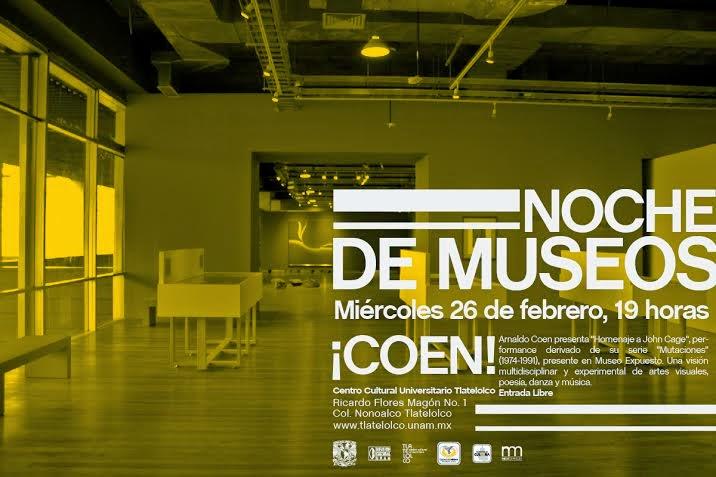 Noche de Museos en el Centro Cultural Universitario Tlatelolco / Febrero 2014