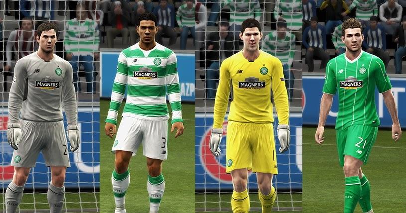 SANTARA PES: PES 2013 Celtic FC GDB 2015-16 by Vulcanzero