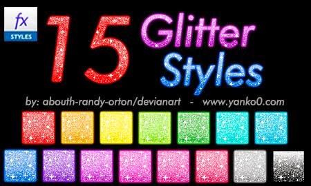 styles, diseño, glitter