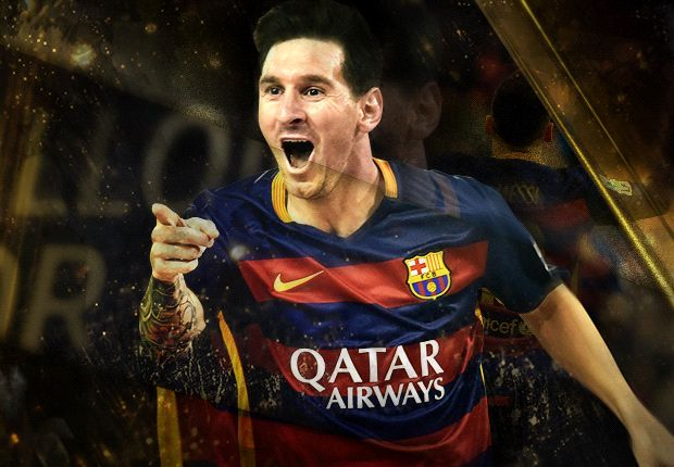 Stand up for the champion: Lionel Messi wins 2015 Ballon d'Or