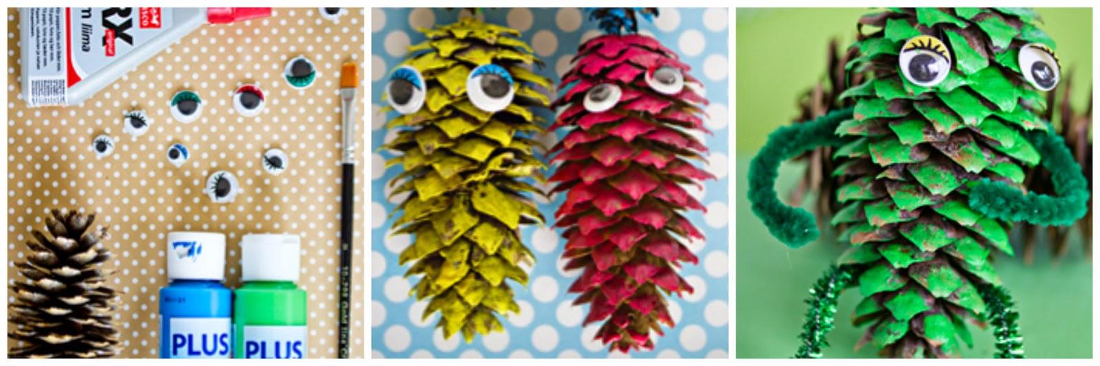 Hilito hilito for Manualidades navidad con pinas