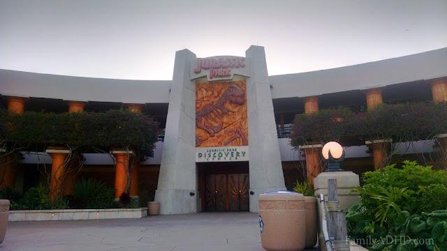 Universal Studios Florida Family Travel Guide Jurassic Park