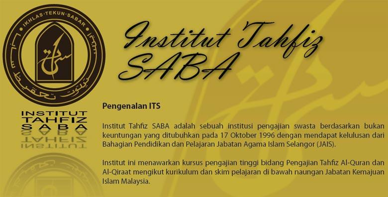 INSTITUT TAHFIZ SABA