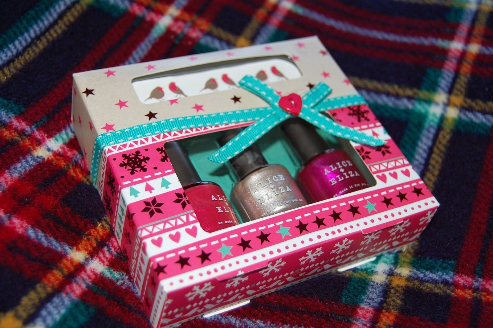 Fancy Nail Polish Christmas Gift Sets Composition - Nail Art Ideas ...