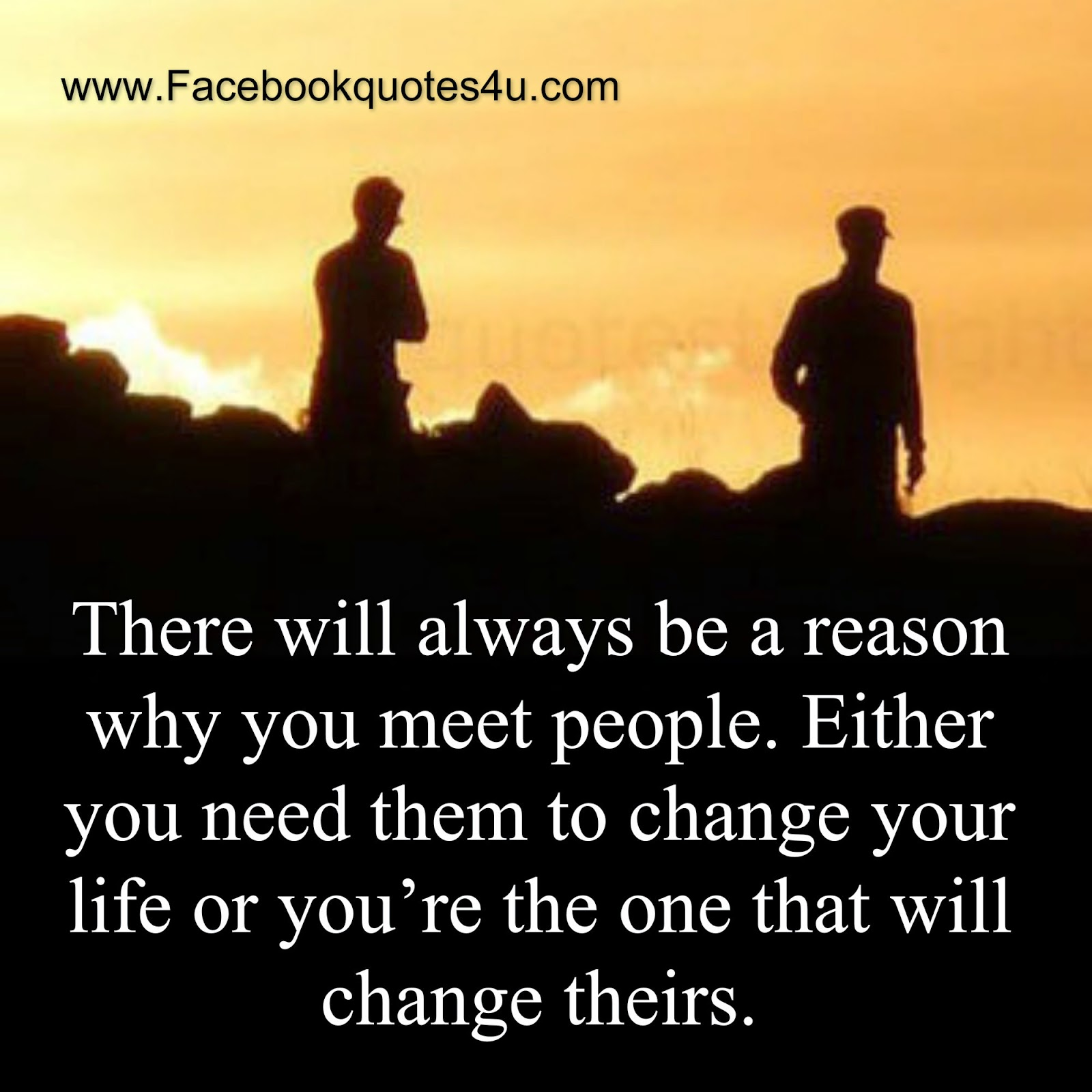 Quotes About Friendships Changing Mesmerizing Quotes There Will Always Be A Reason Why You Meet People