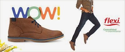 zapatos flexi caballero con cintas