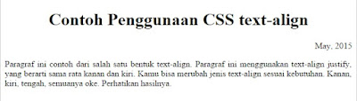 belajar css text