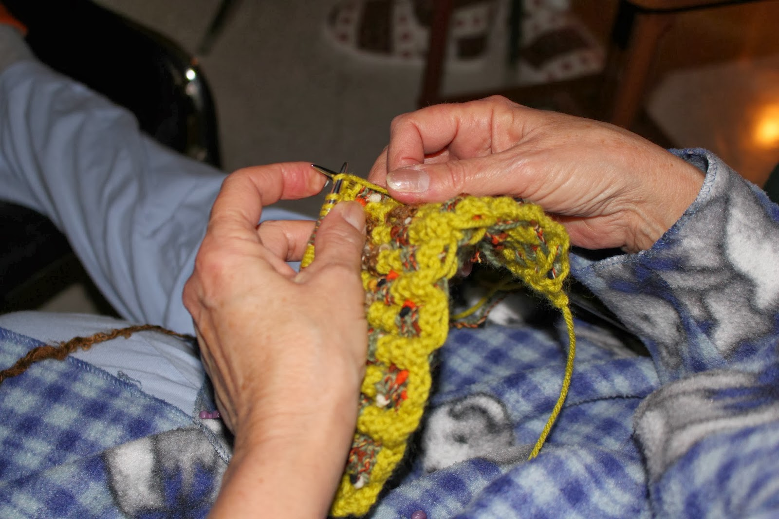 Manon tricote
