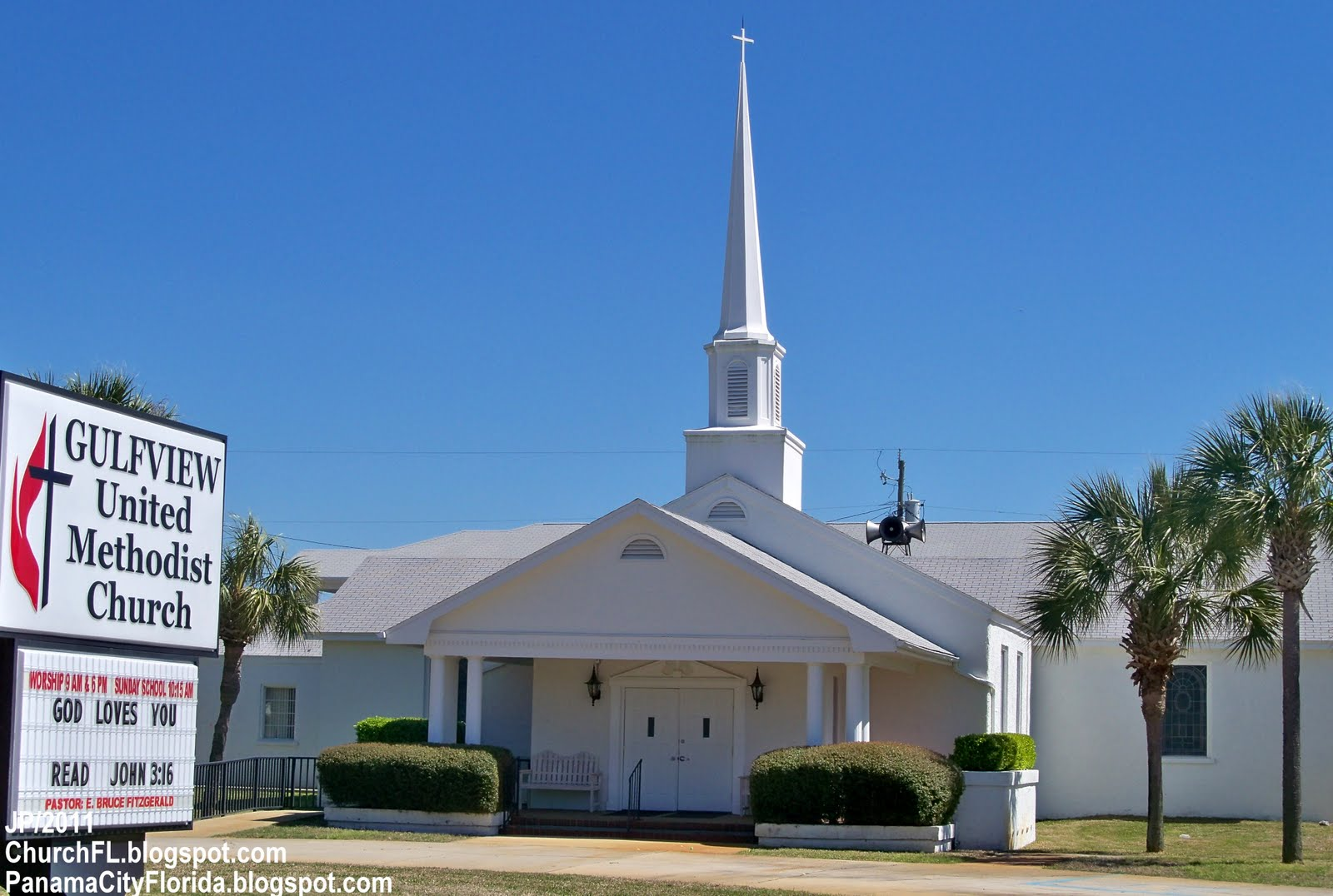 Methodist Church Panama City Beach Fl